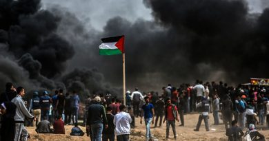Dozens of Palestinian Protesters injured in Gaza
