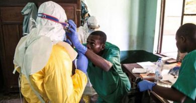 Ebola outbreak spreads to Mbandaka city in Congo
