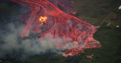 Hawaii Volcano is the world