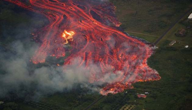 Hawaii Volcano is the world