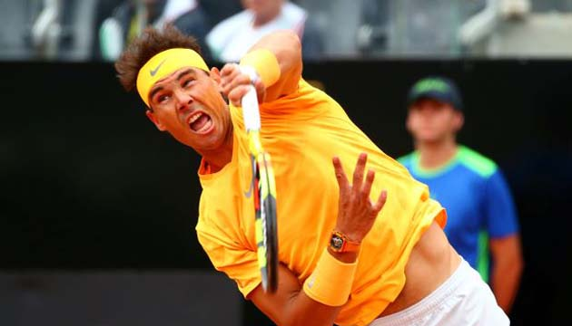 Nadal cruises into Italian Open third round
