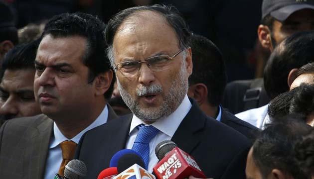 Pakistan's Ahsan Iqbal linked to Tehreek-e-Labbaik