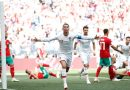 Portugal defeats Morocco 1- 0 in group B match at Moscow's Luzhniki stadium
