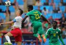 Senegal defeats Poland  2- 1 in a Group H match in FIFA World Cup match.