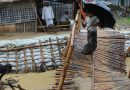 Rohingya refugee shelters 'washed away' in Bangladesh monsoon rains , So far, more than 9,000 have been affected : United Nations  agency.