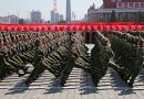 North Korea did not showcase intercontinental ballistic missiles (ICBM) in its military parade held in Pyongyang.