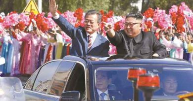 """North Korean leader said he was hoping to see """"substantial progress"""" on denuclearization and other pending issues in his third summit with President Moon Jae-in."""