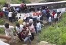 Bus crash killed at least 55 passengers in Jagtial district in southern state of India.