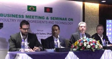 Business Meeting and seminar on Animals meals and fats , From Animal byproducts takes place in Bangladesh