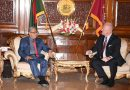 The new German Ambassador in Bangladesh presented his credentials to the President of Bangladesh on September 19.