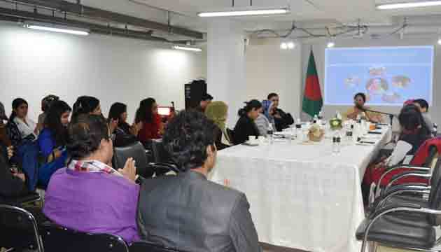 Empowerment of women is phenomenal in Bangladesh  ,says Ambassador Abida Islam ,