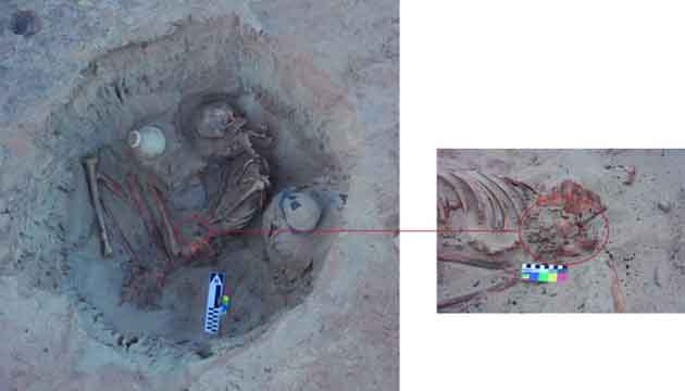 3700 Years old , the Grave of an Egyptian woman has been  discovered in Egypt
