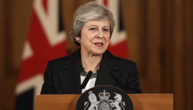 British prime minister Theresa May fights for survival amid Brexit deal crisis.