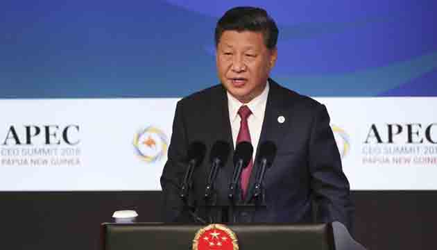 APEC summit : China and US clash on trade.