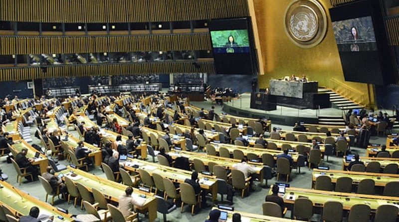 The United Nations General Assembly rejects US-drafted resolution to condemn Hamas