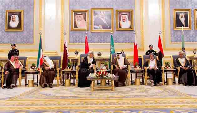 Gulf Cooperation Council (GCC) summit opens in Riyadh amid diplomatic crisis in the Gulf region.