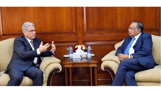 Outgoing Italian Ambassador paid farewell calls on the Foreign Minister and State Minister for Foreign Affairs