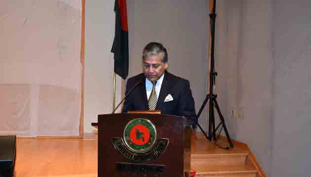 Great Victory Day celebration begins at Bangladesh embassy in Washington, D.C.