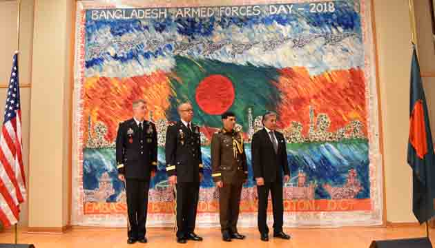 Bangladesh praised for her strong support to security cooperation with USA