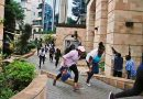 Suspected militants have attacked a luxury hotel complex in Nairobi, killing at least six people.