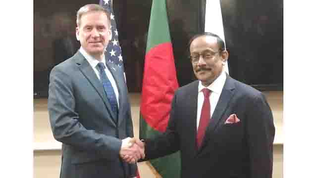 Bangladesh Foreign Secretary met with US high officials