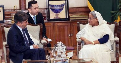 Afghanistan is keen to promote trade and business relations with Bangladesh :  The Afghan ambassador to Bangladesh.