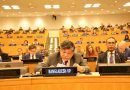 Bangladesh has been elected as a member and Vice President of the Executive board  of UNICEF.