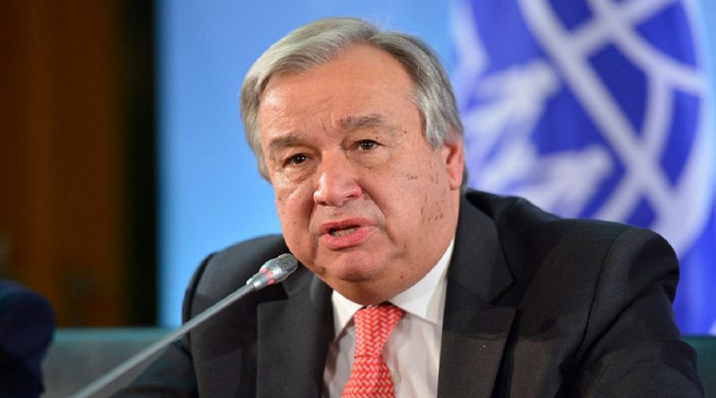 UN Secretary-General Antonio Guterres's Message on the International Day of Remembrance of the Victims of Slavery and the Transatlantic Slave Trade