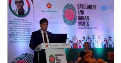 The global leadership must come forward to resolve this Rohingya crisis at its root, not in Bangladesh says Bangladesh Foreign Minister Dr AK Abdul Momen .