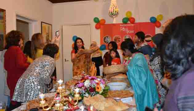 Celebrating Pitha-festival in the Netherlands