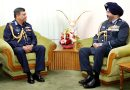 Indian Air chief calls on  Bangladesh Air Force Chief