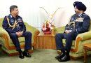 Indian Air chief calls on  Bangladesh Air Force Chief