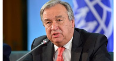 UN Secretary-General Antonio Guterres's Message for 100-Day Countdown to the International Day of Peace 2019