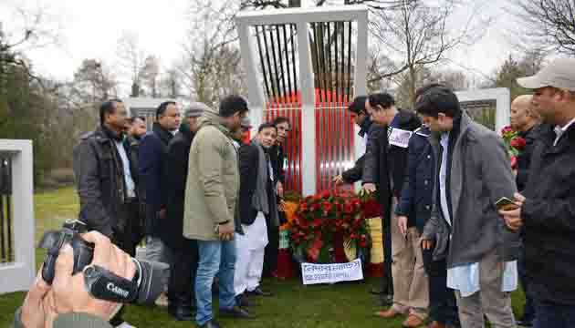 The first-ever Shaheed Minar has been inaugurated at the Zuider Park of The Hague on 21 February 2019