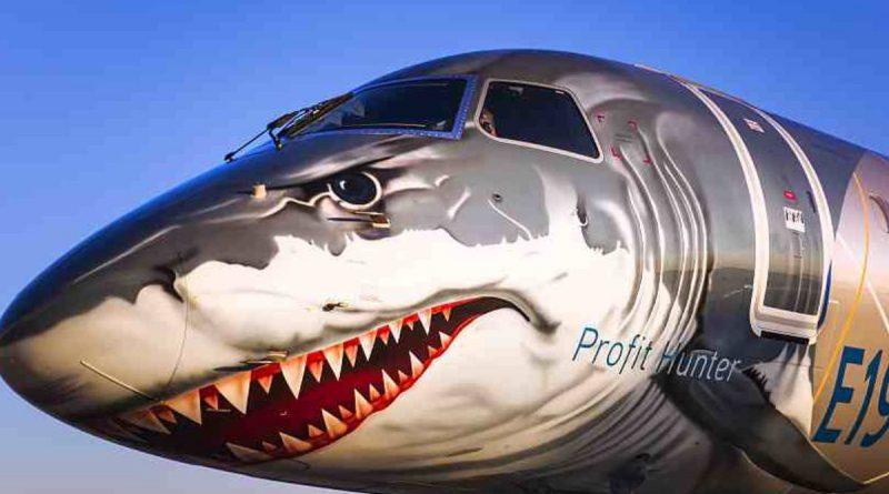 World's most efficient single-aisle commercial jet Embraer's E190-E2 lands at Dhaka Hazrat Shahjalal International Airport.