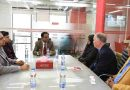 International Delegation Visits Canadian University of Bangladesh
