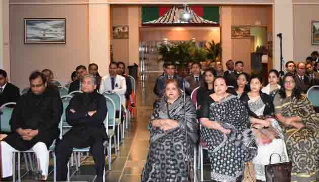 """Genocide Day"""" observed at Bangladesh Embassy in Washington"""