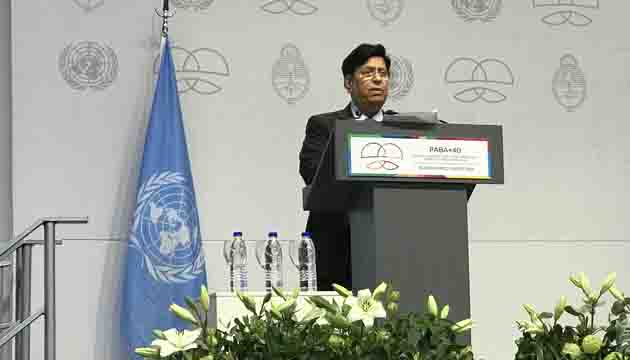 Bangladesh underscores the importance of South-South Cooperation in the implementation of the 2030 Agenda– Foreign Minister Dr. A. K. Abdul Momen.