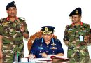 Air Chief visits 72 Infantry Brigade in Rangpur Cantonment.