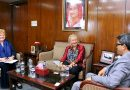 Australian Ambassador for Women and Girls appreciates the leadership role of Sheikh Hasina
