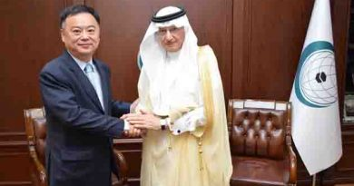 OIC Secretary General receives the Chinese Ambassador