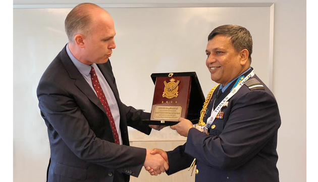 Bangladesh Air Force Chief returned home from Sweden
