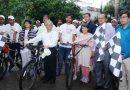 Cycle rally in commemoration of Mahatma Gandhi's 150th birth anniversary