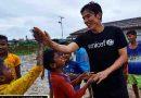 UNICEF Ambassador for Japan, Mr. Makoto Hasebe's visit to the refugee camps in Cox's Bazar