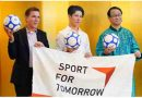 Japan Promotes Peace Through Sport.