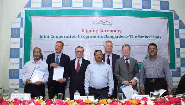 Bangladesh and Netherlands will jointly conduct research on climate change issues related to implementation of Bangladesh Delta Plan 2100.