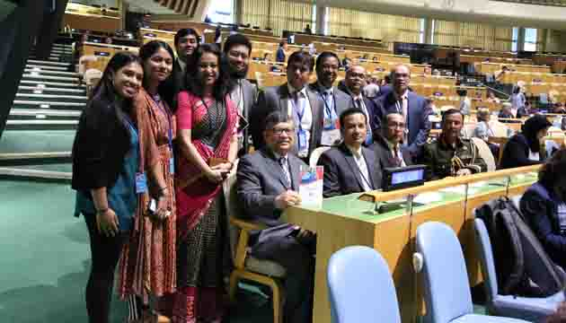 Bangladesh wins a land slide victory in ECOSOC's election in UN for the term 2020-2022 from the Asia-Pacific region.