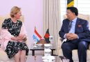 Development Cooperation and Humanitarian Minister of Luxembourg Ms Paulette Lenert met Foreign Minister Dr. A K Abdul Momen