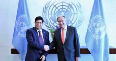UN Secretary-General Antonio Guterres has been carrying on the best efforts to find a sustainable solution to resolve the Rohingya crisis.