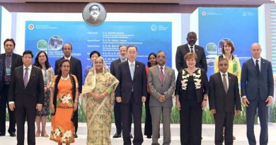 """Former UN Secretary-General Ban Ki-moon branded Bangladesh as the """"best teacher"""" in climate adaptation noting that what the people and government of Bangladesh have achieved in the practice of adaptation is nothing short of miraculous."""